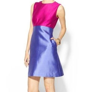 Kate Spade Blakely A-Line Colorblock Pink Dress 4